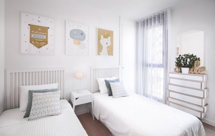 El dormitorio secundario