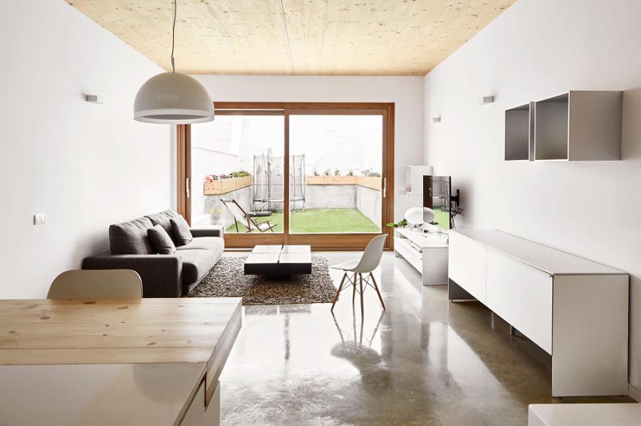Una vivienda eficiente y elegante ideas arquitectos - Arquitectos terrassa ...