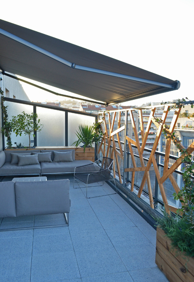 Foto terraza con suelo de gres de miriam mart 1150547 - Suelos de terrazas exteriores ...