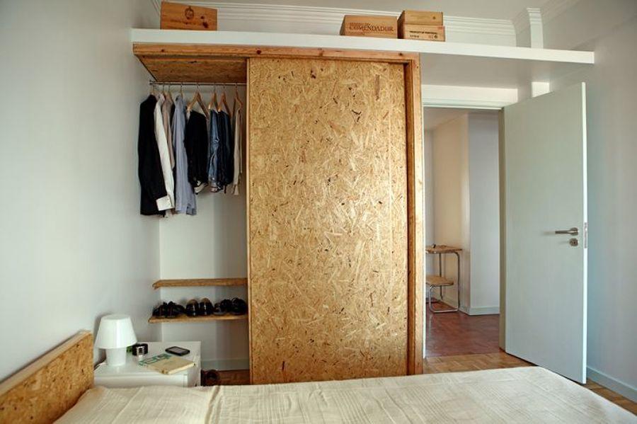 puerta corredera  osb