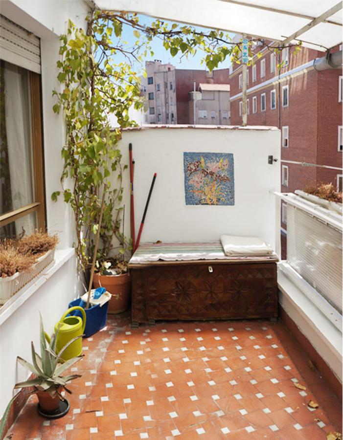 Antes y despu s de la reforma de 5 balcones ideas for Terrazas traseras