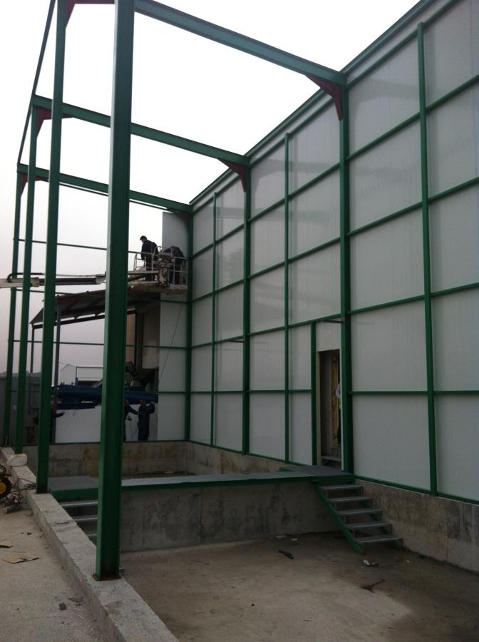Estructura metalica nave ideas reformas viviendas - Estructura metalica vivienda ...