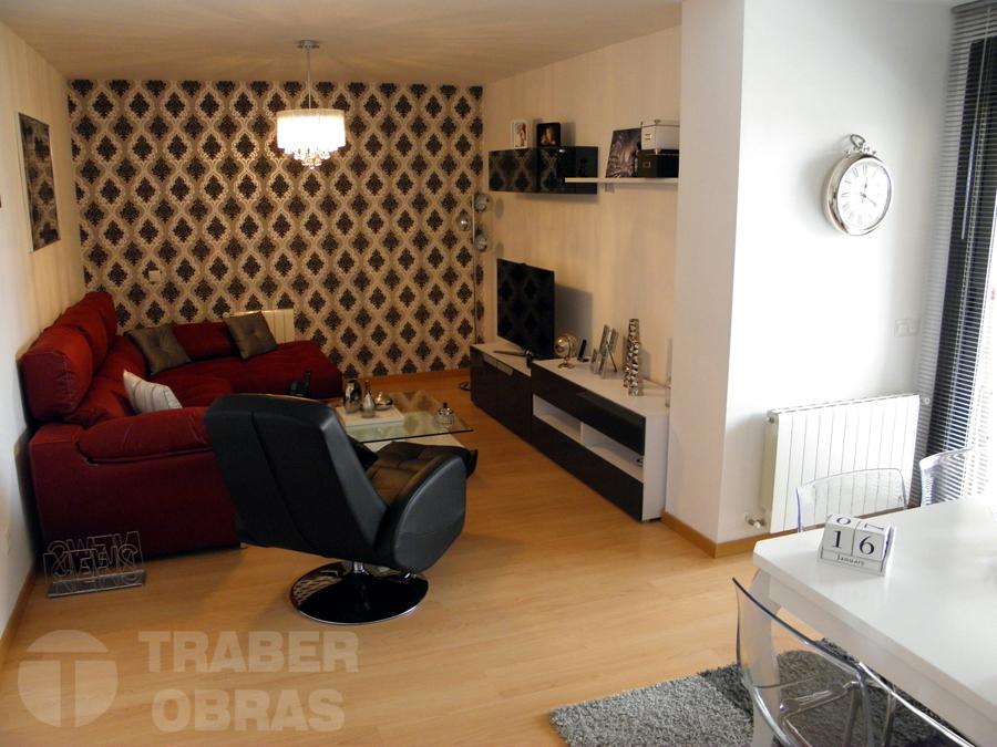 reforma_vivienda_Madrid_por_Traber_Obras_decoracion_con_papel_pi