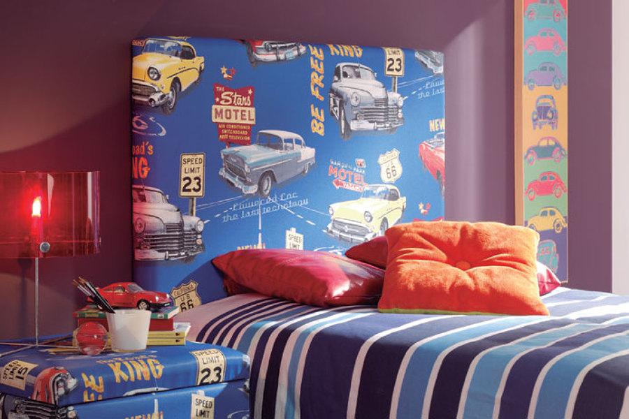 Como Realizar Un Cabecero Tapizado Para La Cama Ideas Reformas - Ideas-para-cabeceros-de-cama-juveniles