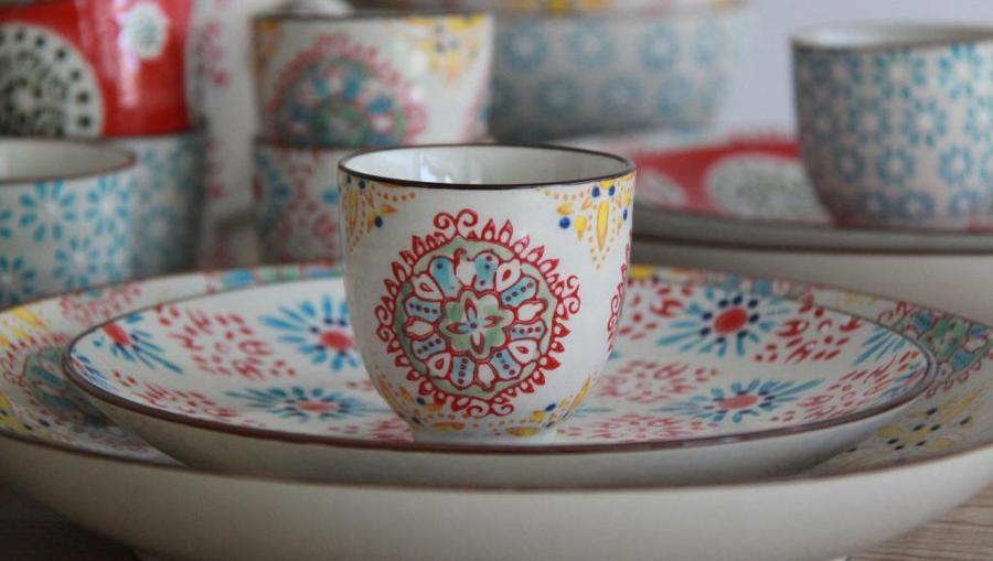 La versatilidad de las vajillas ideas decoradores - Vajilla ceramica artesanal ...