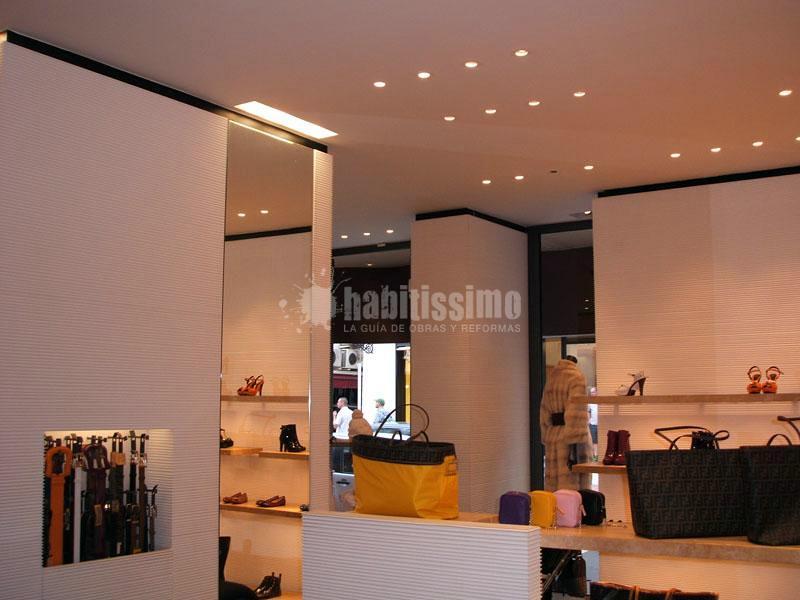 Reforma de tienda de lujo Fendi en Puerto Banús