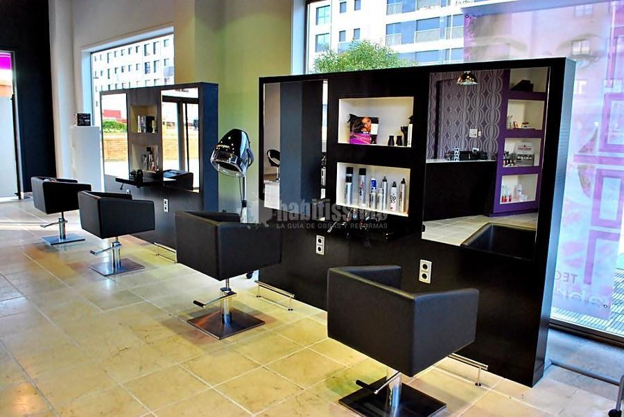 Reforma de peluquer a ideas reformas locales comerciales - Ideas para decorar una peluqueria ...