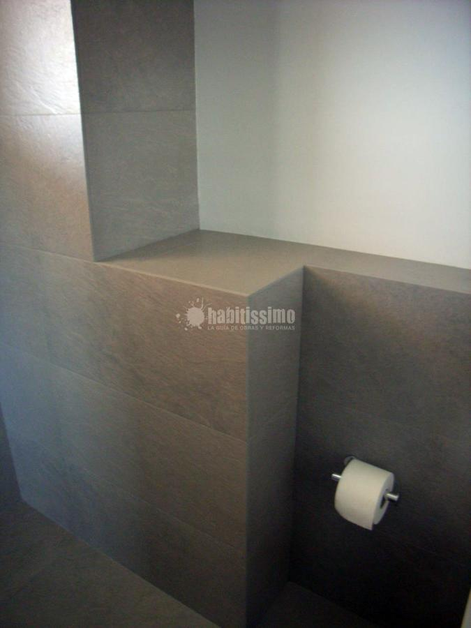 Cocina y baño de diseño en vivienda particular