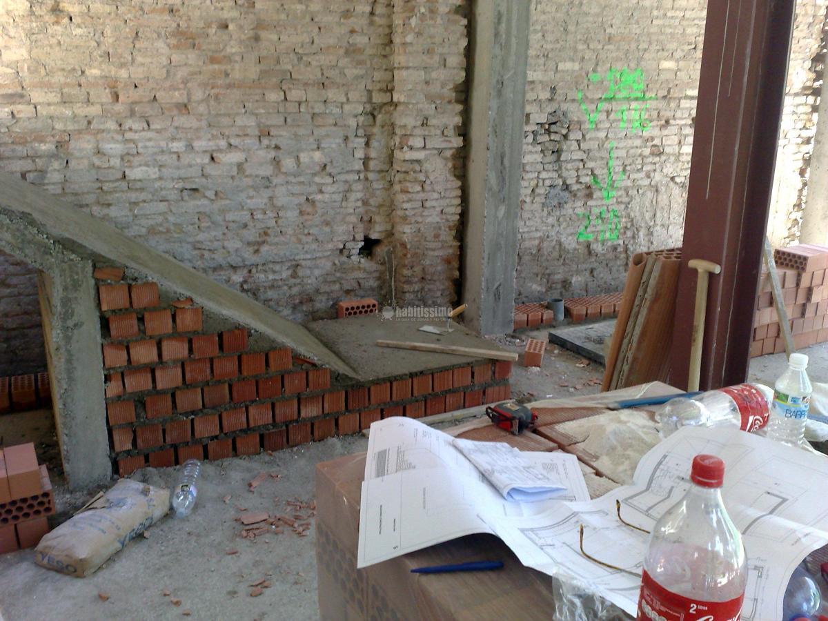 Trabajos de construccion y albañileria
