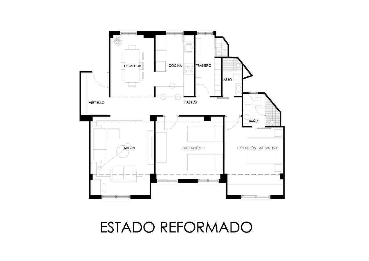 Reforma vivienda ensanche Norte Valencia