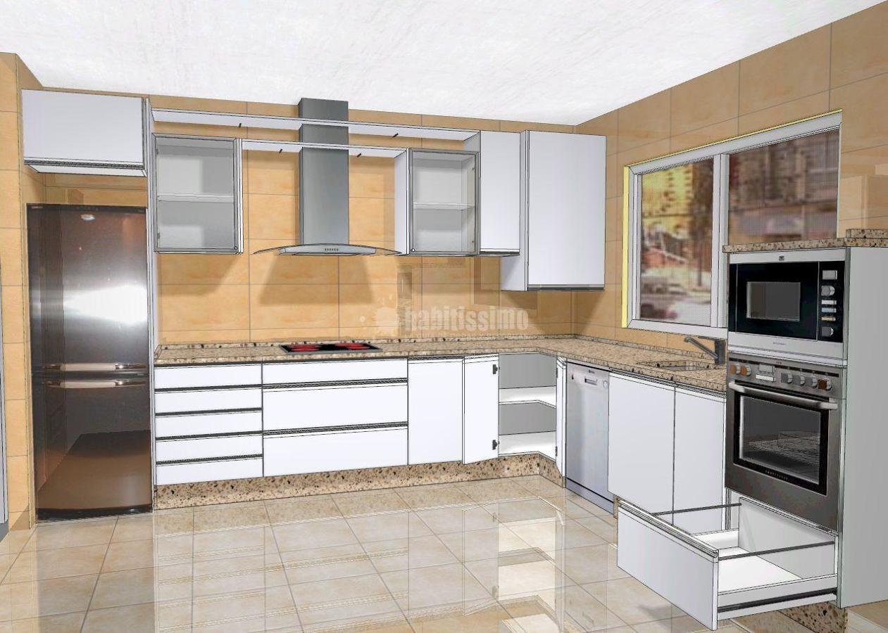 Foto ejemplos de cocinas en valladolid de reformas for Programas de diseno de cocinas y armarios gratis