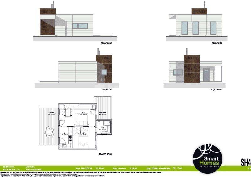 SMART HOMES - Modelos - Casa Modular