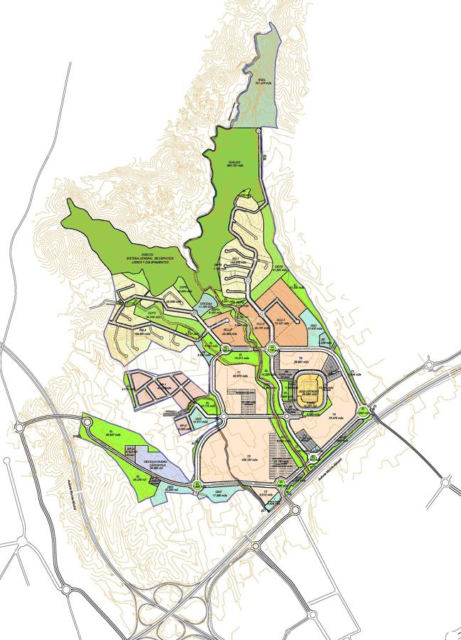 Urbanismo - Plan Parcial Nueva Condomina