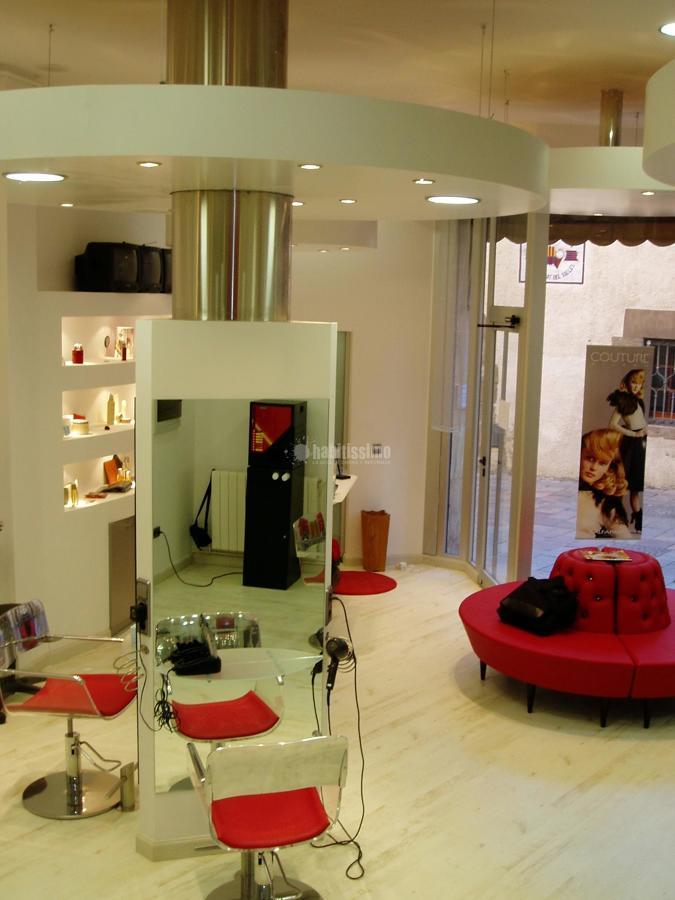 Proyecto de interiorismo de peluqueria som tress ideas arquitectos - Proyecto de peluqueria ...
