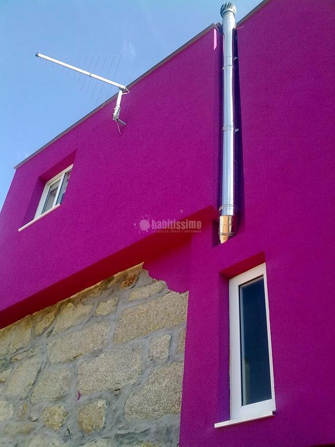 Aislamiento t rmico en exterior de vivienda en valladares - Aislamiento vivienda ...