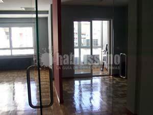 Reforma piso para oficinas
