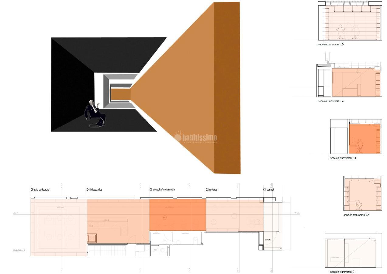 Foto biblioteca del colegio territorial de arquitectos de - Colegio de arquitectos de lleida ...