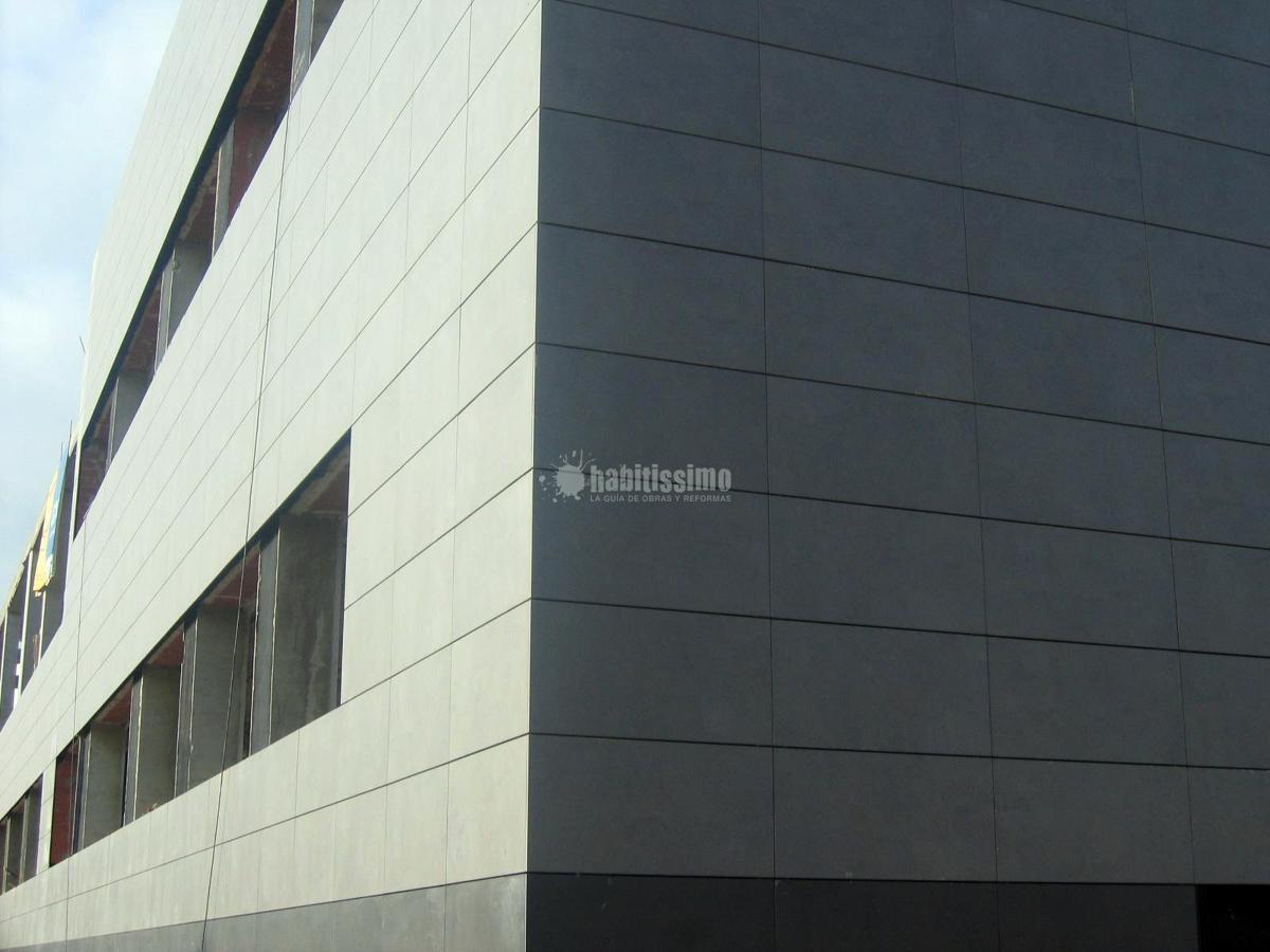 Fachadas cer micas fachada ventilada en paterna ideas - Mejor revestimiento para fachadas ...
