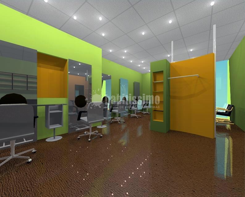 Proyecto de Interiorismo de Peluqueria Charo Muñoz