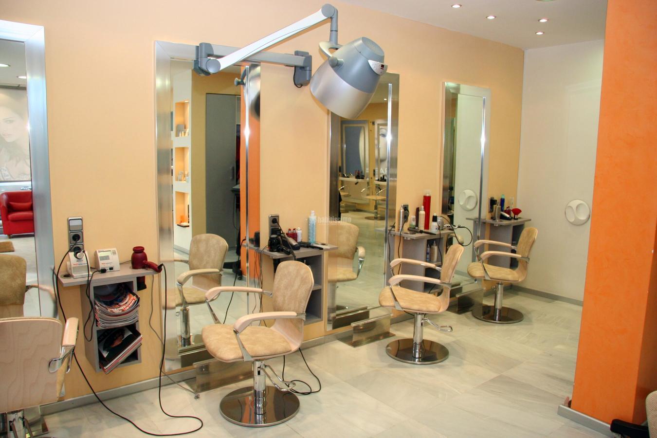 Proyecto de interiorismo peluqueria imatge ideas arquitectos for Iluminacion para peluquerias