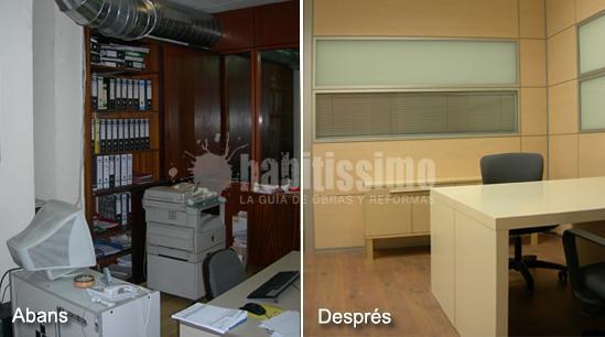 Reformas oficinas Barcelona