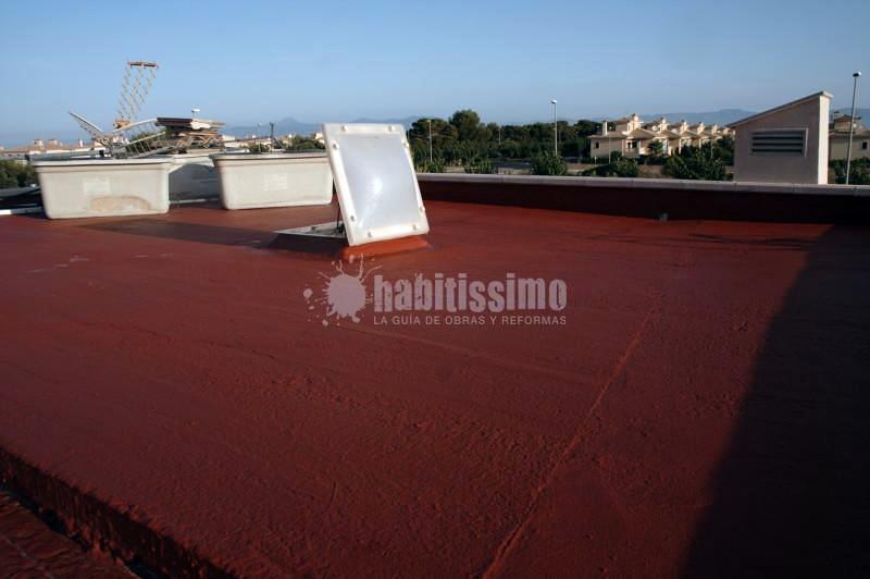 Impermeabilización terraza en Sa Torre