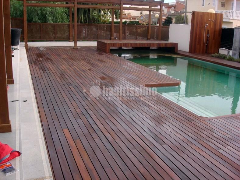 Lijado y aceitado de madera exterior de ipe ideas pulir for Ipe madera exterior