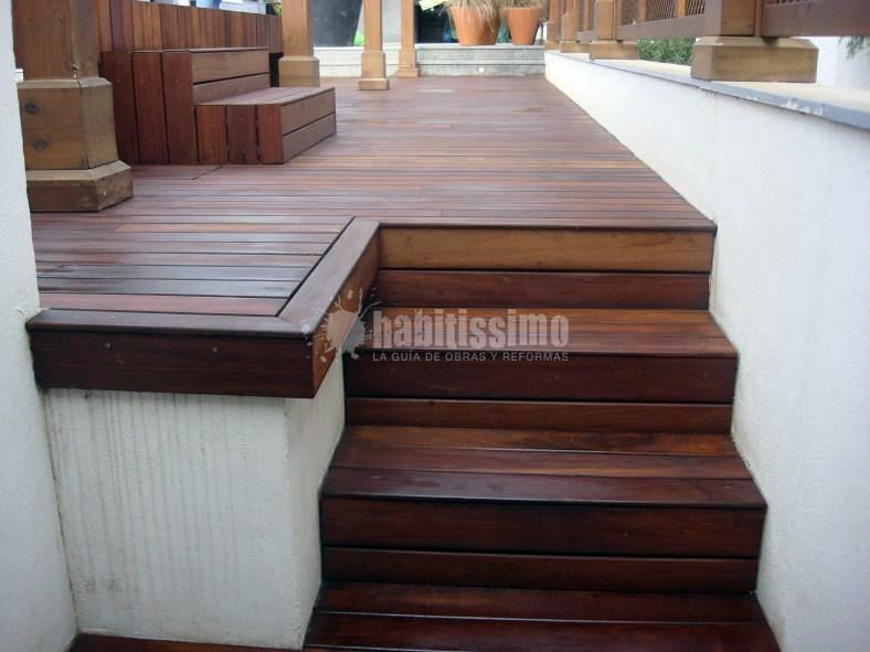 Lijado y aceitado de madera exterior de ipe ideas pulir for Madera ipe exterior