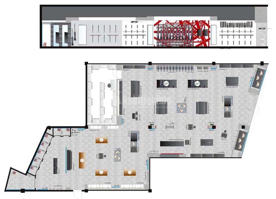 Proyectos de Acondicionamiento y Apertura de Tiendas Jack & Jones y Vero Moda