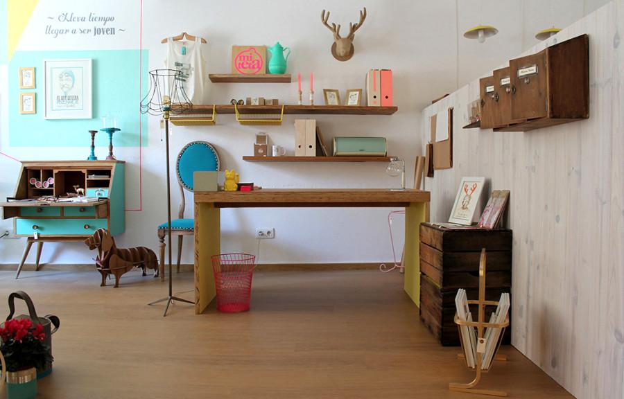 Suelos muebles y maletas mi hogar vintage ideas for Muebles de oficina castilla