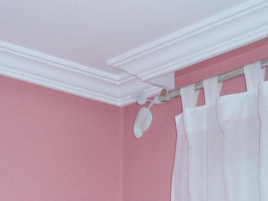 C mo colocar molduras decorativas ideas reformas viviendas for Techo de escayola decoracion simple