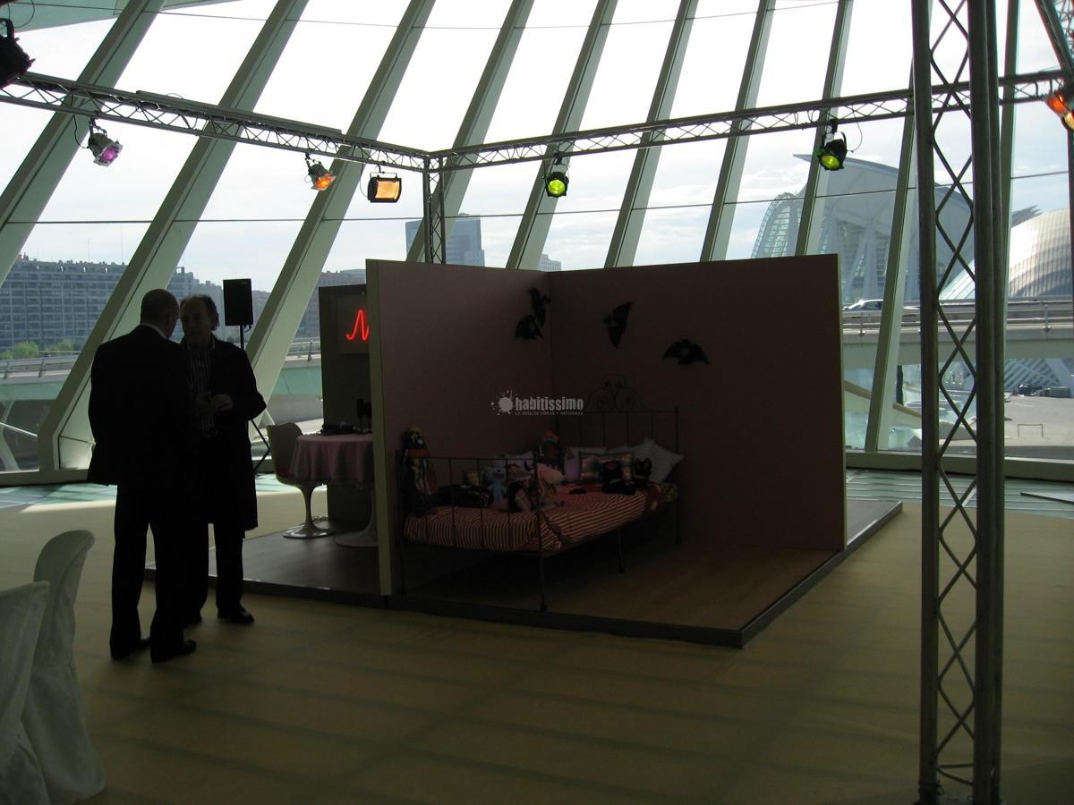 Suelos evento de presentación Naturtek en el Palau de les Arts
