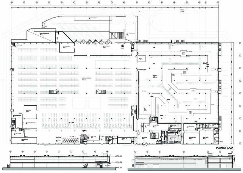 Proyectos Básico y de Ejecución de Tienda de IKEA en San Sebastián de los Reyes. Madrid.