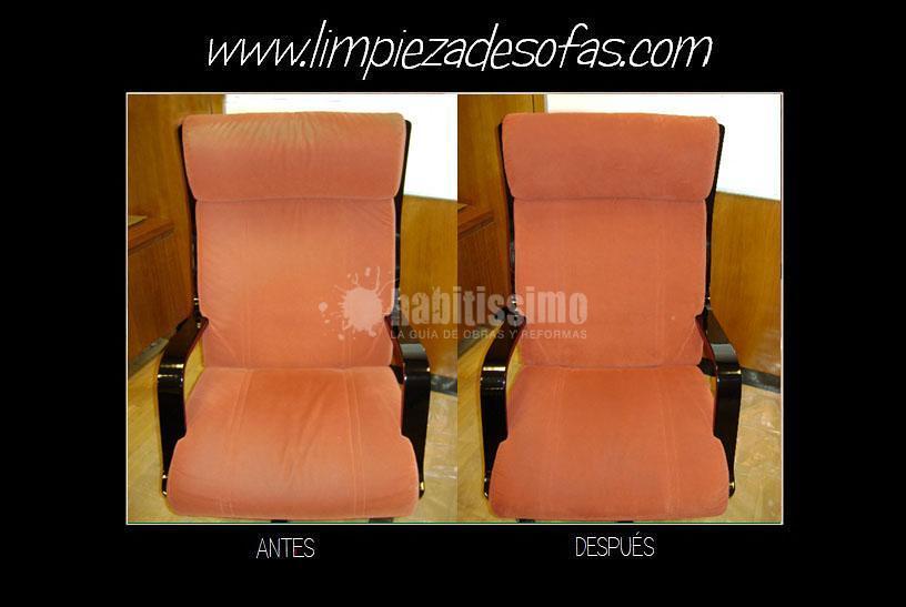 Limpieza de sillas, sillones y butacas