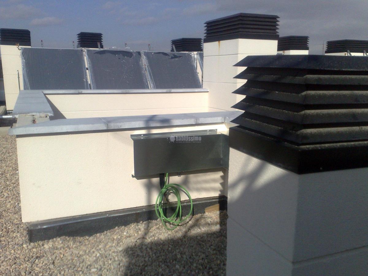 Instalación aire acondicionado en 32 viviendas del Ivima Rubau