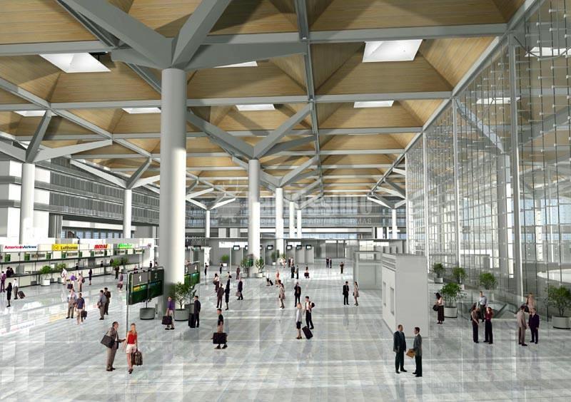 Proyecto Constructivo del Nuevo Área Terminal, Urbanización y Accesos al Aeropuerto de Málaga.