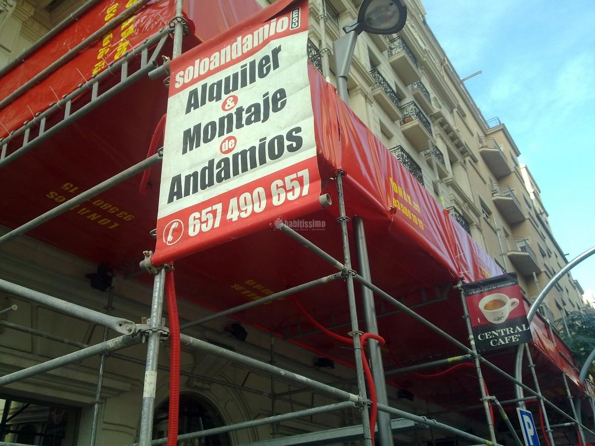 Andamio Barcelona