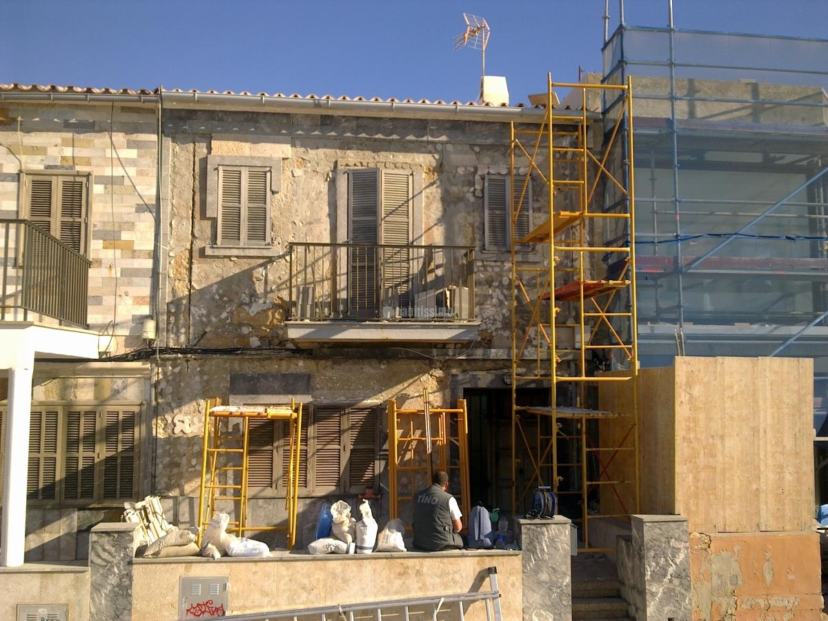 Forrado de fachada de piedra simil mares ideas - Recubrimientos para fachadas ...