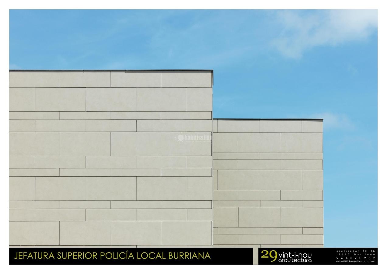 Jefatura Superior Policia Local Burriana. Premios Cerámica de Arquitectura Ascer 2010