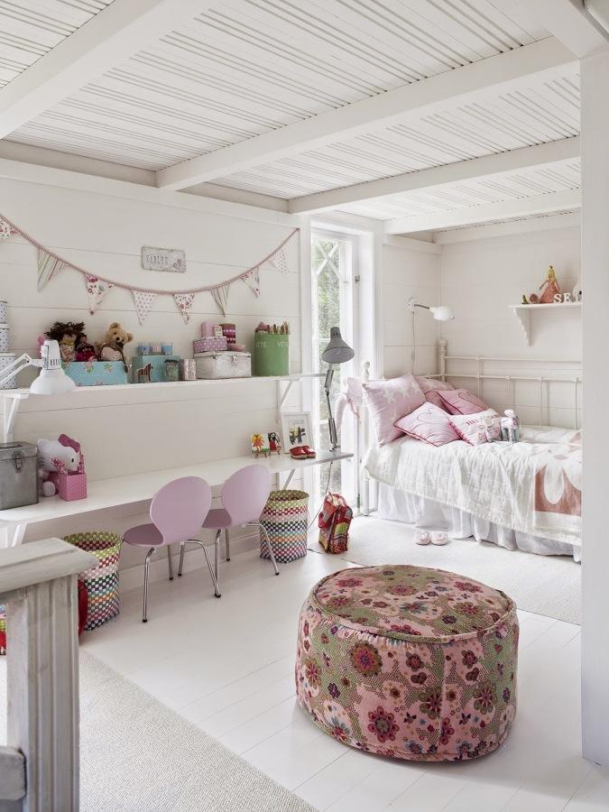 Dormitorios boho chic para los peques de la casa ideas for Habitaciones originales para ninos