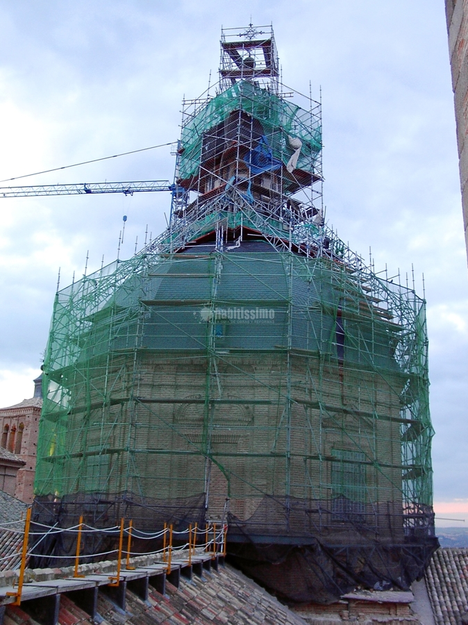 Rehabilitación Iglesia de San Ildefonso, Toledo