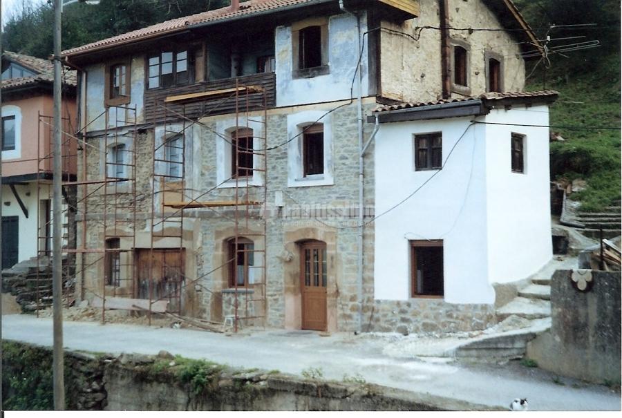 Rehabilitacion de fachadas de casas rurales ideas - Rehabilitacion casa rural ...