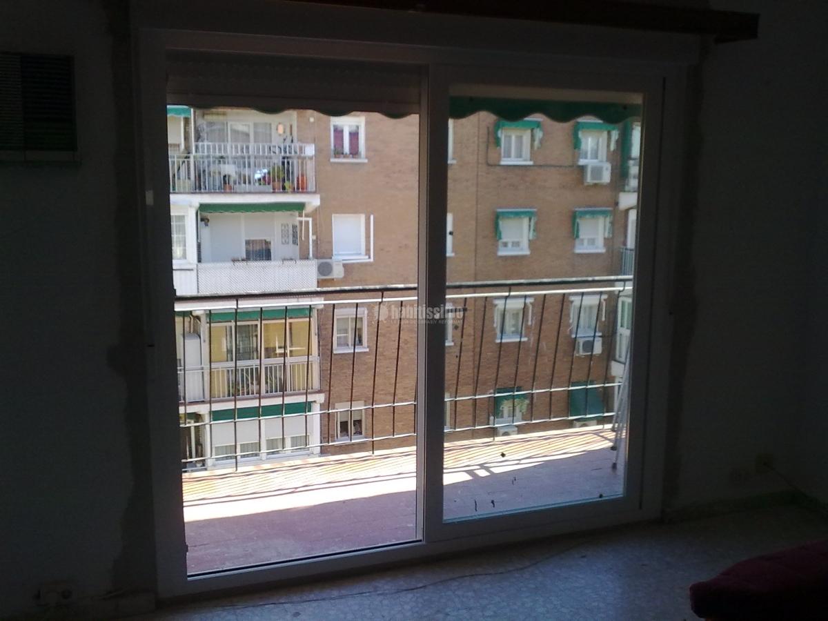 Cerramiento de terraza en Puente de Ventas (Madrid)