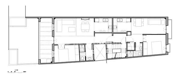 Partición y reforma de piso