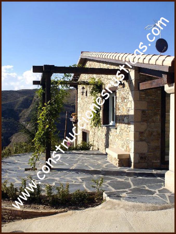 Casas de piedra ideas construcci n casas - Construccion casas de piedra ...