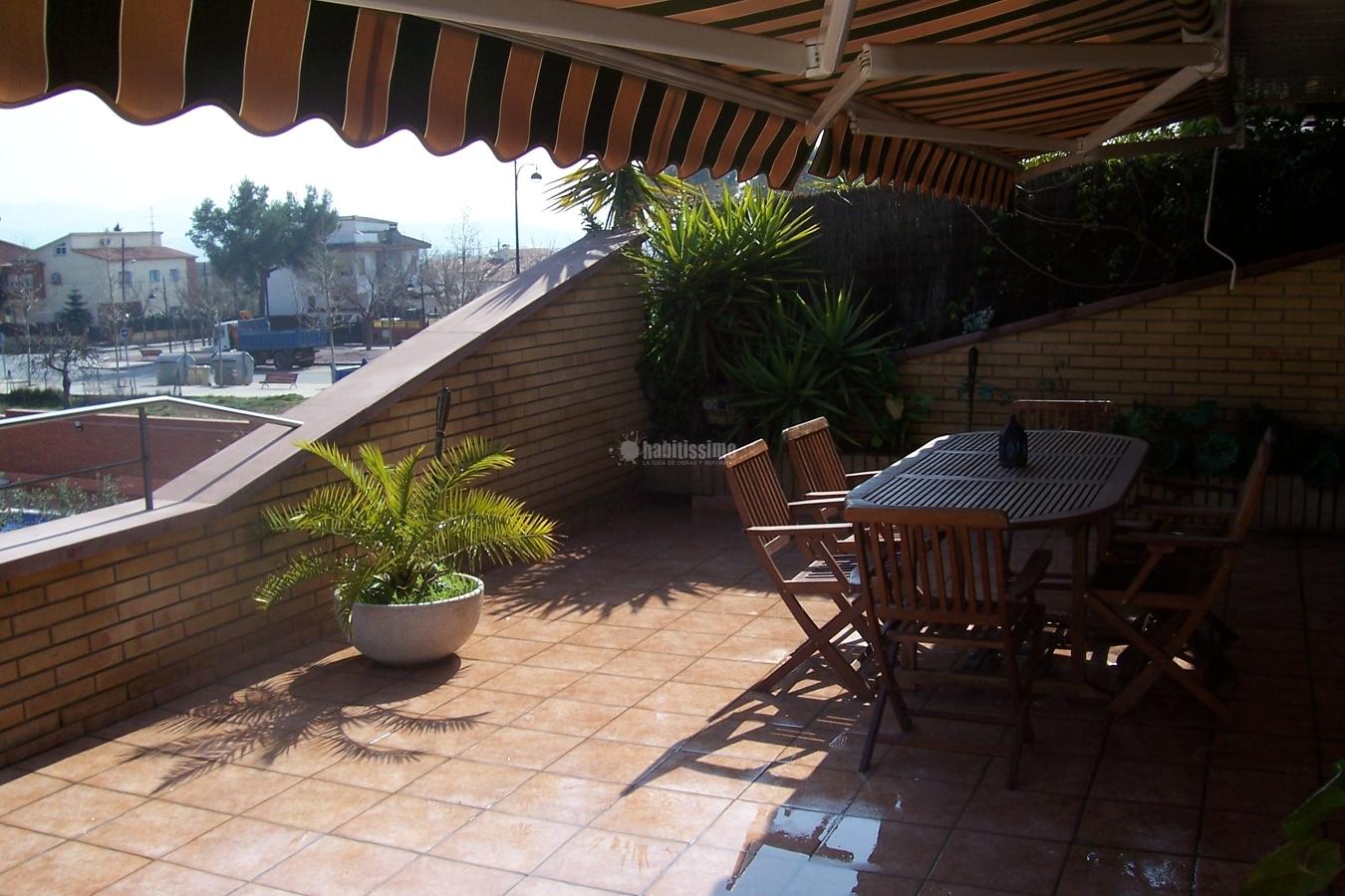 Acabados y jardinera de terraza ideas impermeabilizaciones - Jardineras para terrazas ...