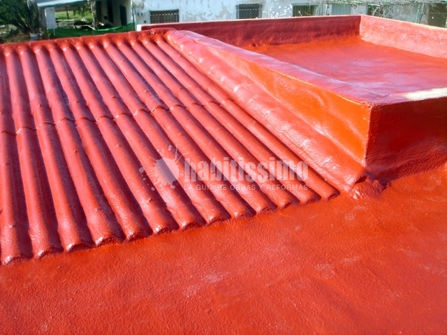Tejado y terraza con filtraciones de agua ideas impermeabilizaciones - Tejado a un agua ...