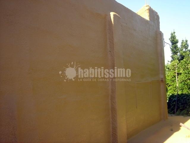 Aislamiento de muro exterior