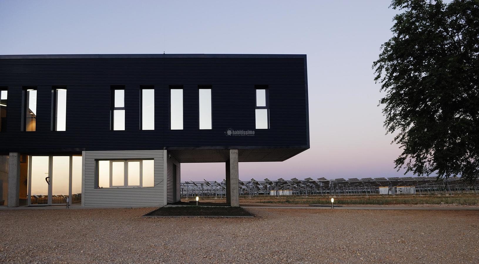 Centro de control para parque solar fotovoltaico