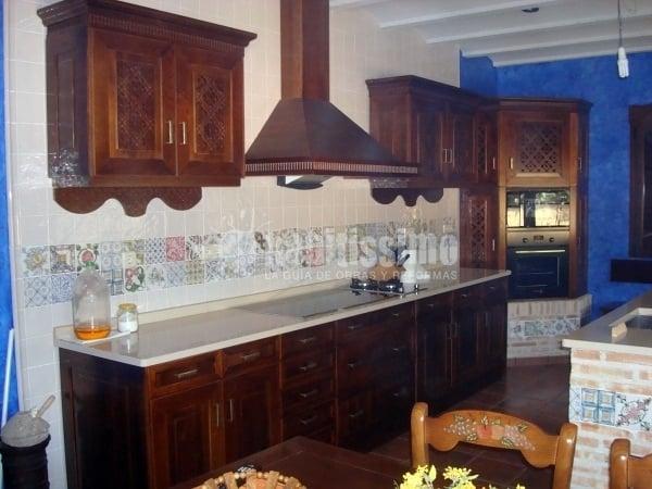 Cocina celosia talavera ideas muebles for Cocinas estilo colonial